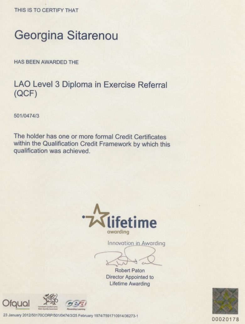 About Me Personal Training In Sutton Coldfield Gina Personal